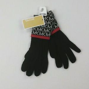 Micheal Michael kors black gloves new